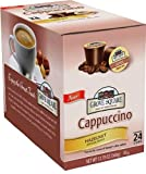 Grove Square Cappuccino Single Serve Cappuccino Cups, Hazelnut, Single serve cups for Keurig Brewers, 24 ct