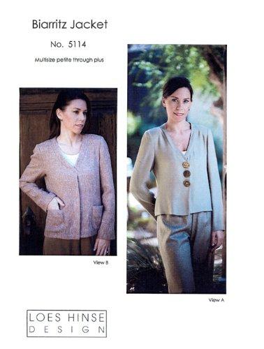 Patterns - Loes Hinse #5114, Biarritz Jacket