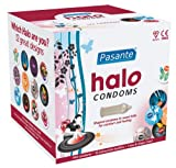 Condoms co uk Pasante Halo Condoms 144 Pack with 10ml sachet of Mates Silky Lube