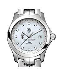 Buy Cheap Brown University TAG Heuer Watch - Women's Link with Mother of Pearl D Deals