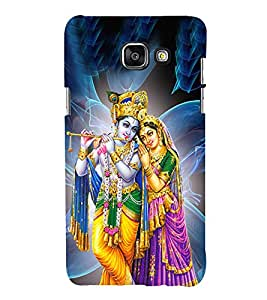 Radha Krishna Cute Fashion 3D Hard Polycarbonate Designer Back Case Cover for Samsung Galaxy A3 (2016) :: Samsung Galaxy A3 2016 Duos :: Samsung Galaxy A3 2016 A310F A310M A310Y :: Samsung Galaxy A3 A310 2016 Edition