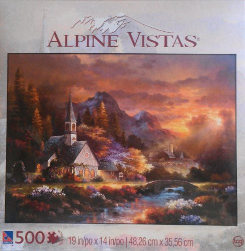 Sure-Lox 500 Piece Puzzle: Morning Hope