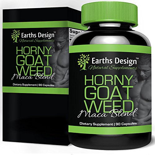 Horny-Goat-Weed-Natural-Testosterone-Supplements-with-Maca-Powder-and-Icariin-Libido-Booster-and-Performance-Enhancing-Pills-for-Both-Men-and-Women-90-Capsules