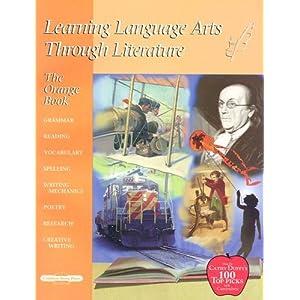 Learning Language Arts Through Literature:Orange Teacher Book (4th Grade)