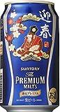 サントリー 香るプレミアム 2016干支デザイン缶 申歳 350ml×24本