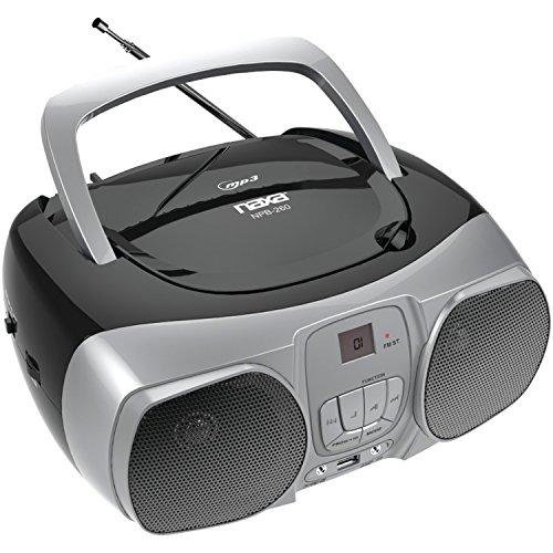 Naxa Electronics NPB-260 NAXA NPB-260 MP3  CD & CD-R/RW BOOM