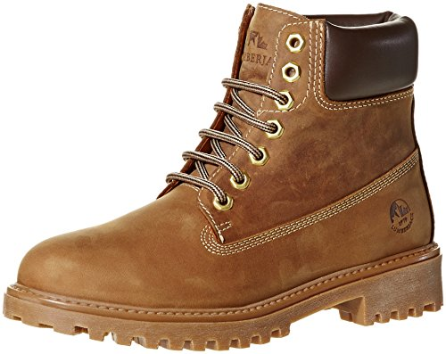 LUMBERJACK BOOT PELLE COTTO/DK BROWN, 39 MainApps