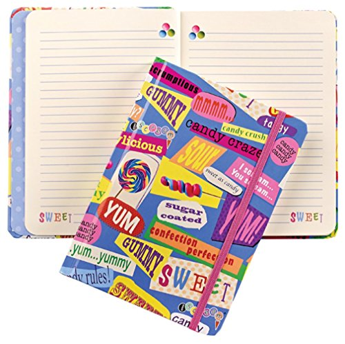 iscream 'Candy Words' Hard Covered Journal