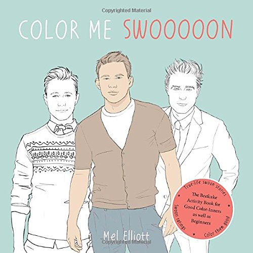 Color Me Swoon: The Beefcake Activity Book for Good Color-Inners as well as Beginners (Colour Me Good compare prices)