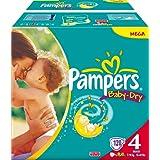 """Pampers Baby Dry Gr.4 Maxi 7-18kg Megapack 120 Stk.von """"Pampers"""""""