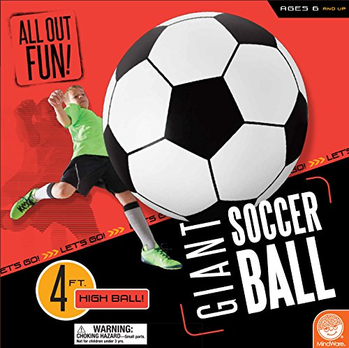 All Out Fun: Giant Inflatable Soccer Ball