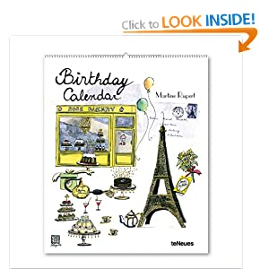 2014 Martine Rupert Vertical Birthday Calendar Martine Rupert