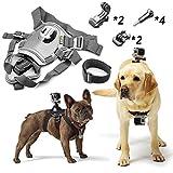 DeKaSi Adjustable Dog Harness Chest Mount for GoPro HERO4 Session /4 /3+ /3 /2 /1 and SJ4000 SJ5000 SJ6000 Sports Camera Accessories Kit