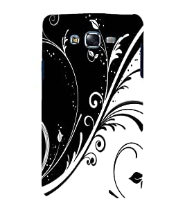 printtech Floral Abstract Back Case Cover for Samsung Galaxy E5 / Samsung Galaxy E5 E500F