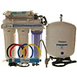 iSpring RCC7U - 6-Stage 75 GPD UV Ultra Violet Reverse Osmosis RO Water System with Chrome faucet