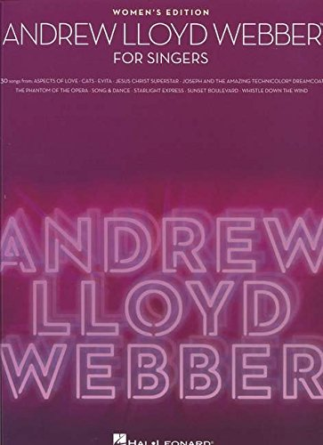 Andrew Lloyd Webber for Singers Women's Edition (Andrew Lloyd Webber Sheet Music compare prices)