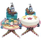 Jake and the Never Land Pirates	Party Disney Cake Stand Cardboard