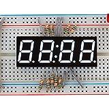 Adafruit White 7-segment clock display - 0.56