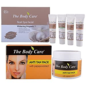 The Body Care Combo Of Pearl Spa Facial Kit + Anti Tan Pack