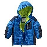 Oshkosh b'gosh big boys parka winter jacket hooded coat sz 4