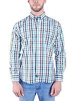 TIME OF BOCHA Camisa Hombre (Azul)