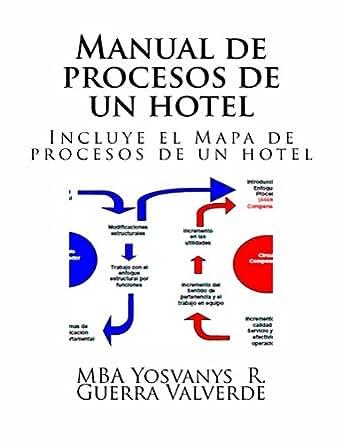 Manual de procesos de un hotel incluye el for Mapa de procesos de un restaurante