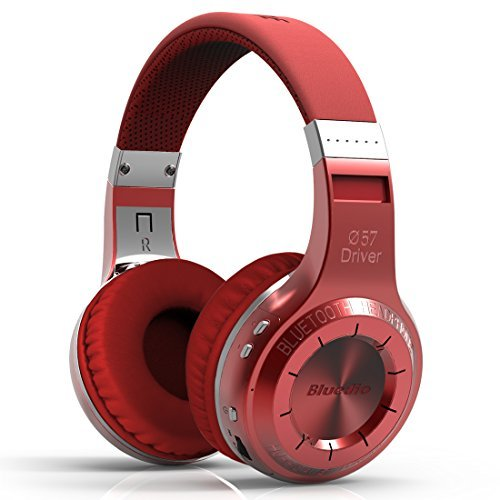 Bluedio Ht(Shooting Brake) Wireless Bluetooth 4.1 Stereo Headphones (Red)