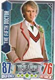 Alien Attax - 213 THE FIFTH DOCTOR (Time Lord) Individual Trading Card.