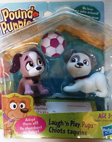 Pound Puppies Mini Figures, Laugh 'n Play Pups