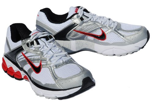 d04f8a9f95527 New Nike Zoom Equalon + 4 Wht Blk Red Mens 10  135 · image · Get Discount  Click Now! This running shoe ...