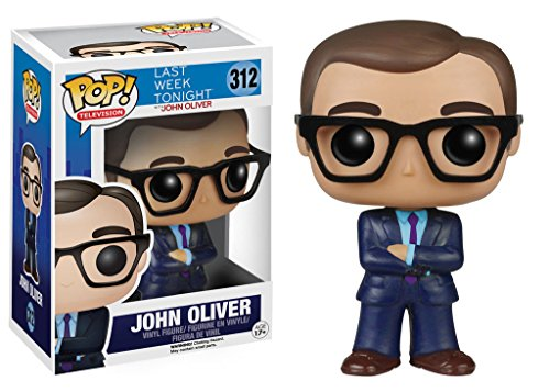 Funko Pop TV Last Week Tonight: John Oliver Vinyl Action Figure Collectible Toy PRS