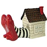 Westland Giftware Wizard of Oz Magnetic Wicked Witch of the East Legs and House Salt and Pepper Shaker Set, 3-1/4-Inch