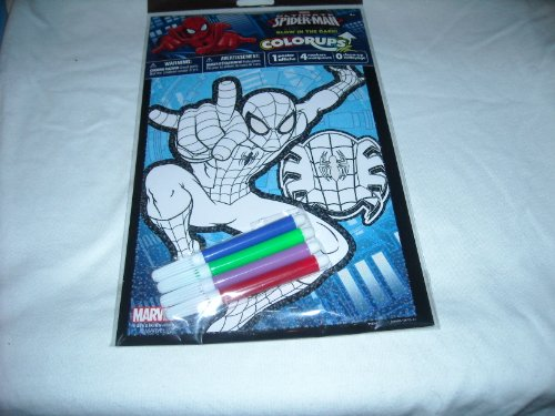 Marvel Ultimate Spiderman Colorups - Glow in the Dark - 1