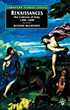 img - for Renaissances: The Cultures of Italy, c. 1300-c. 1600 (European Studies Series) by Richard MacKenney (2005-01-01) book / textbook / text book