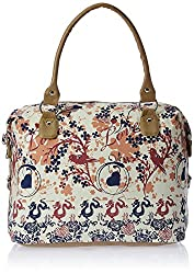 Kanvas Katha Women's Handbag (Ecru) (KKAC001)