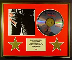 THE ROLLING STONES/CD-Darstellung/Limitierte Edition/COA/STICKY FINGERS