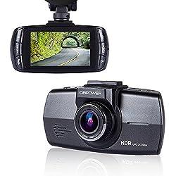DBPOWER 2.7 1080P FHD Dash Cam Car DVR Camcorder with G-sensor WDR Night Vision Motion Detection-Ambarella A7 OV4689