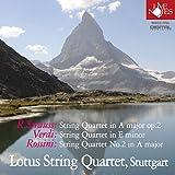 ロータス・カルテット~オペラハウスを席巻した3人の作曲家の弦楽四重奏曲~