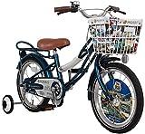 JEFFERYS(ジェフリーズ) Morris(モーリス) 子供用 16インチ自転車 補助輪/リアキャリア付 Traflgar Blue(トラファルガーブルー)