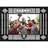 Oakland Raiders Art Glass Horizontal Frame at Amazon.com