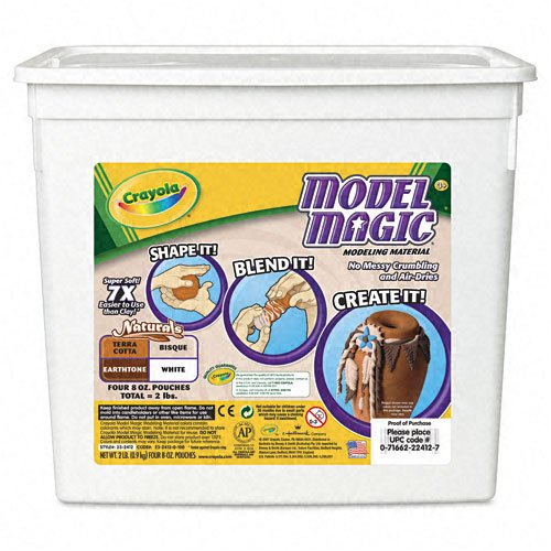 Crayola® Model Magic Modeling Compound, 2lb Bucket, Natural