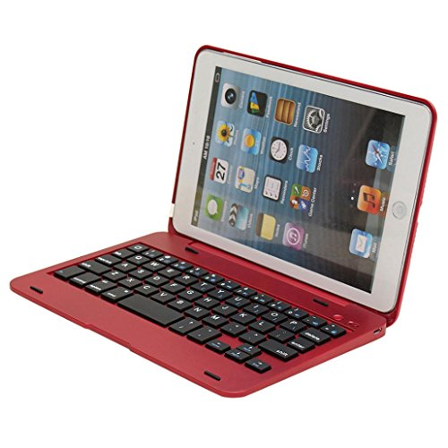 Hatop Wireless Bluetooth Rechargeable Keyboard Case Cover For iPad Mini 1 2 3