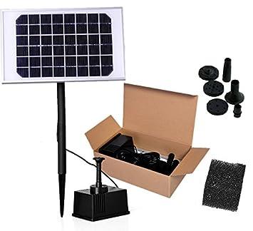 5w 12v haute puissance fontaine solaire pompe eau solaire pour jardin ou bassin hauteur du. Black Bedroom Furniture Sets. Home Design Ideas