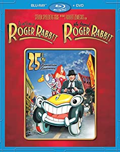 Qui veut la peau de Roger Rabbit / Who Framed Roger Rabbit: 25th Anniversary Edition Blu-ray Combo (Blu-ray + DVD) Bilingue (Version française)
