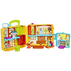 Sesame street the furchester hotel playskool playset for Playskool kitchen set