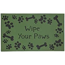 Townhouse Rugs Puppy Bones Doormat 18 by 30-Inch