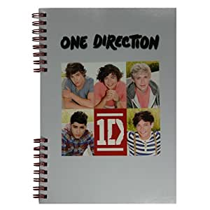 One Direction Cahier ᅵ Spirales A5