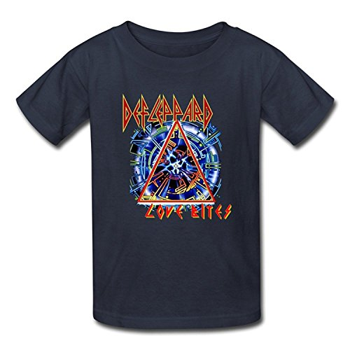 Goldfish Youth Love 100% Cotton Def Leppard T-Shirt Medium
