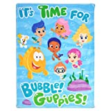Bubble Guppies: Time for Bubble Guppies Plush Blanket