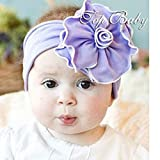 Tinksky Lovely Sunflower Style Baby Infant Newborn Hand Knitted Crochet Hat Costume Baby Photograph Props Set
